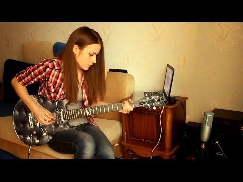 Slash - Anastasia (guitar cover by Marina Andrienko) (видео)