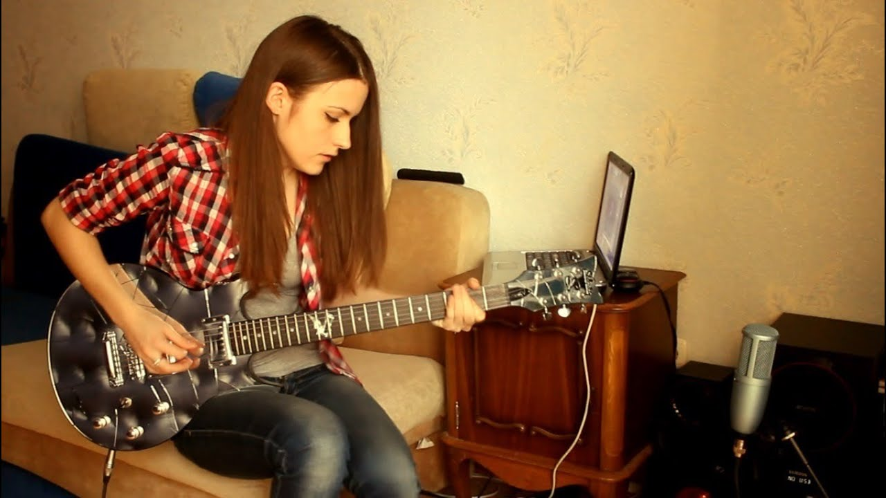 Slash – Anastasia (guitar cover by Marina Andrienko)