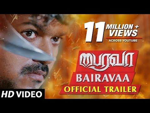 Download Bairavaa Official Trailer | 'Ilayathalapathy' Vijay, Keerthy Suresh | Santhosh Narayanan | Bharathan HD Video