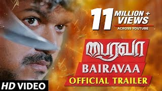 Bairavaa Movie Trailer HD - Vijay, Keerthy Suresh