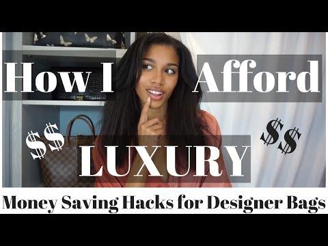 HOW I AFFORD LUXURY  |  Money Saving + Shopping Hacks for Designer Handbags  |  KWSHOPS