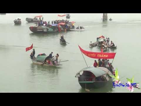 Đua thuyền trên sông La Đức Thọ - 2017
