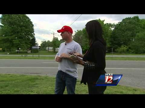 'Angel' firefighter hurt in crash, saves woman's life