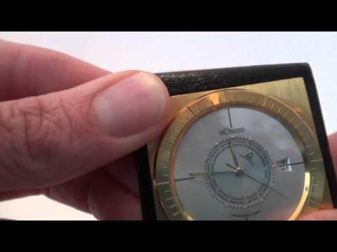 Jaeger LeCoultre memodate, world time travel alarm