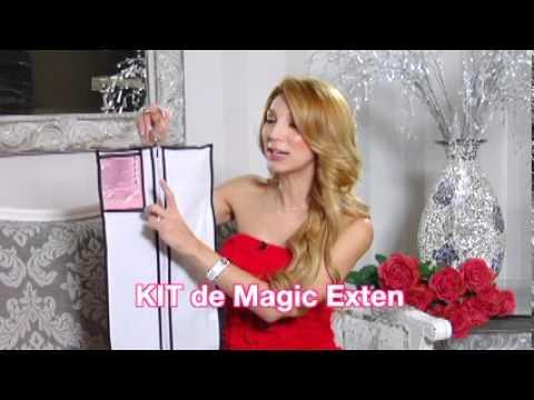 Extensiones de Cabello Magic Exten, Las mejores y mas faciles de aplicar