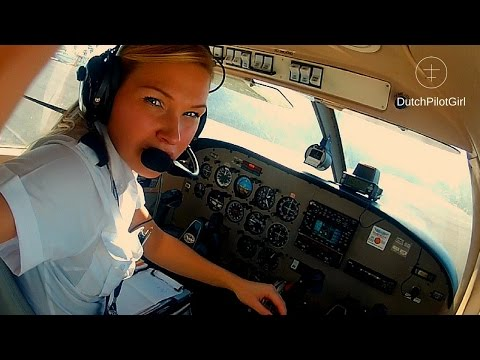 Flying SOLO Piper Archer aircraft