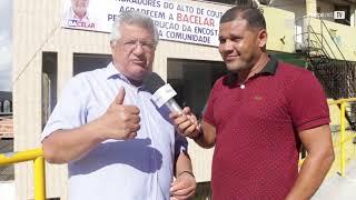Bacelar visita a comunidade de Alto de Coutos