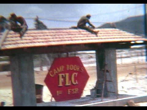 Vietnam War home movies MCB-1 Co. B 1967 Camp Books Red Beach Danang