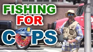 Fishing for Cops Prank by Tom Mabe