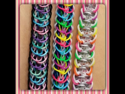 """Released"" Rainbow Loom Bracelet/How To Tutorial"