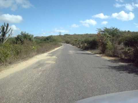 Cabaceiras - PB (estradas em péssimas condições)