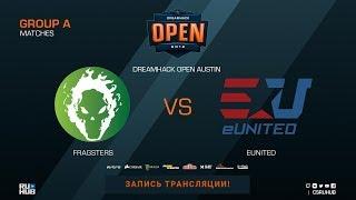 Fragsters vs eUnited - DreamHack Open Austin 2018 - de_cache [Anishared, Smile]