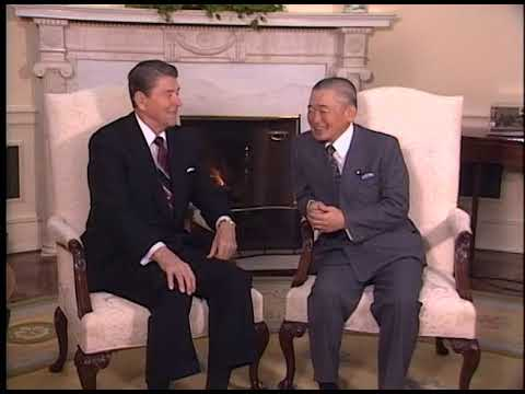 President Reagan's Meetings with Prime Minister Takeshita of Japan on January 13, 1988