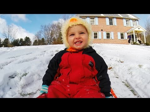 experience - California kids Stella and Quincy enjoy their first snow day in Vermont, complete with horses, pigs, and of course...sledding! Shot 100% on the HERO3+® camera from http://GoPro.com. Get...