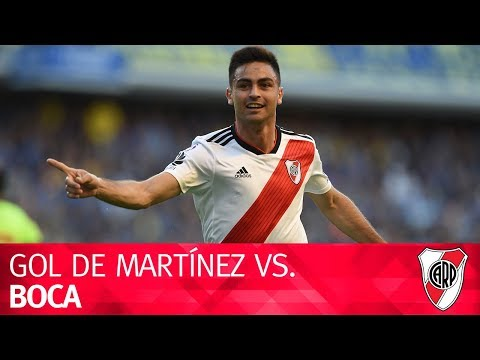 Golazo del Pity Martínez en el Superclásico