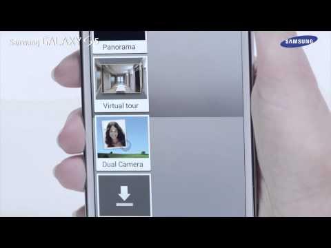 Samsung GALAXY S5 - jak korzystać z trybów pracy aparatu
