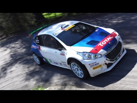 TEST ANDREUCCI PEUGEOT 208 R5 - RALLY SANREMO 2017 [SHOW]