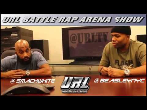 URL Battle Rap Arena has Smack and Beasley addressing the Armageddon Weekend