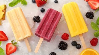 3 Delicious Smoothie Popsicles | Easy Summer Treats by The Domestic Geek