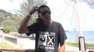 Azmi Yon, ranger at Christmas Island National Park, member of the Malay community, among many things :-)