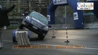 Motor Show Di Bologna - Subaru Test Drive - 08-12-2009