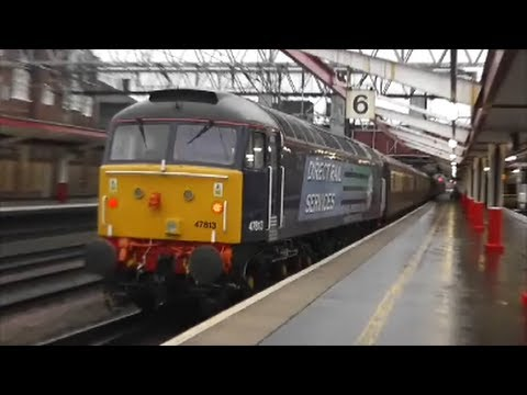 Trains at Crewe | 22/12/12
