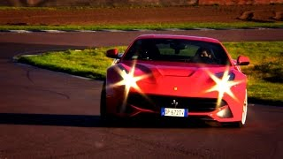 Ferrari F12 vs. Aston Martin Vanquish: Noise And Lap Times - Fifth Gear by Fifth Gear