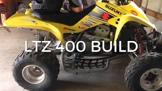 9. 04 Suzuki Ltz 400 build