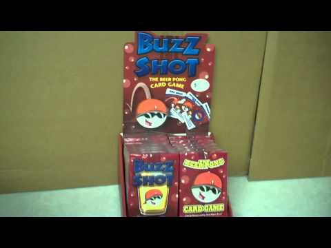 "Buzz Shot – The ""Official"" Beer Pong Card Game Deck"