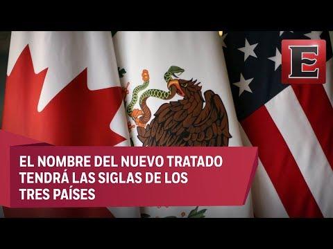 Nace nuevo pacto trinacional; las siglas, USMCA