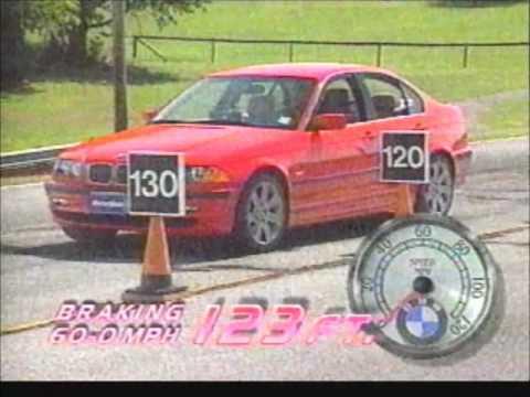 1999 BMW 328i E46 MW Road Test/1999 BMW DSC System