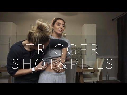 Live Trigger Shot & Pills - How Lesbians Have A Baby Pt. 4