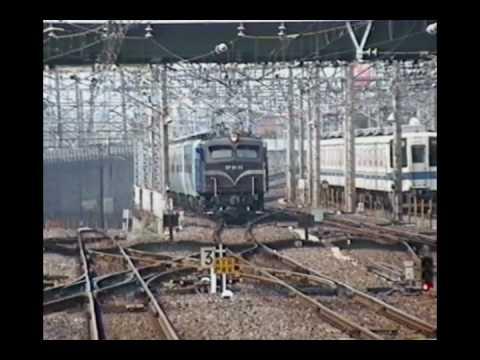 EF58 89 12系6両(なごやか編成)回送 1994年8月10日