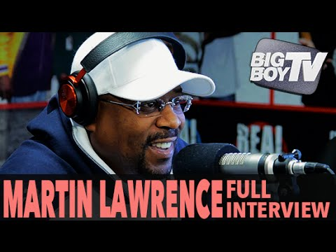 Martin Lawrence on His Return to Stand-Up, Bad Boys 3, And More! (Full Interview) | BigBoyTV