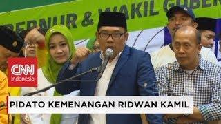 Video Didampingi Istri, Ridwan Kamil Deklarasi Kemenangan MP3, 3GP, MP4, WEBM, AVI, FLV Juli 2018