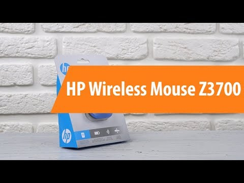 Распаковка HP Wireless Mouse Z3700 / Unboxing HP Wireless Mouse Z3700
