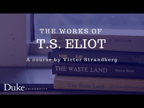 The Works of T.S. Eliot 08: Preludes