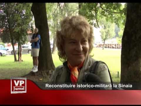 Reconstituire istorico-militară la Sinaia