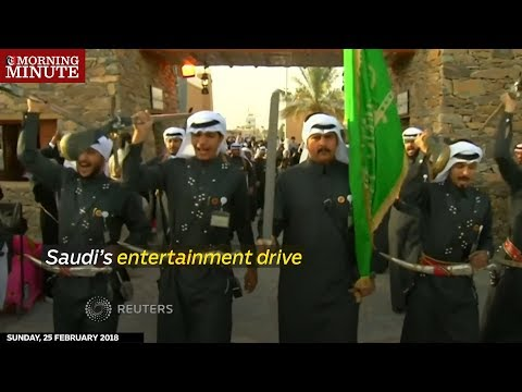 Saudi's entertainment drive