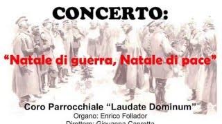 Spot concerto: Natale di Guerra Natale di Pace