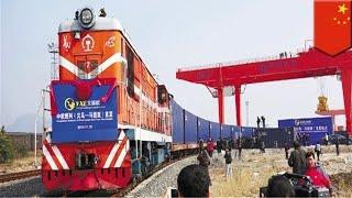 世界最長の鉄道が開通 中国とスペインを結ぶ