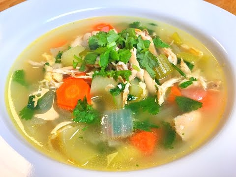 How To Cook MAGICAL Chicken Soup & Fight Morning Sickness During Pregnancy