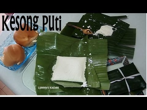 How to make KESONG PUTI or KASILYO ( Tagalog Cheese, Wrapped in Banana Leaf)