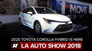2020 Toyota Corolla Hybrid is the more conventional Prius alternative | LA Auto Show 2018 by Roadshow