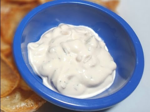 How To Make Sour Cream And Onion Dip - Easy Cooking!