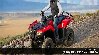 10. 2018 Honda FourTrax Rancher 4x4 DCT IRS EPS ATV Rec/Utili...