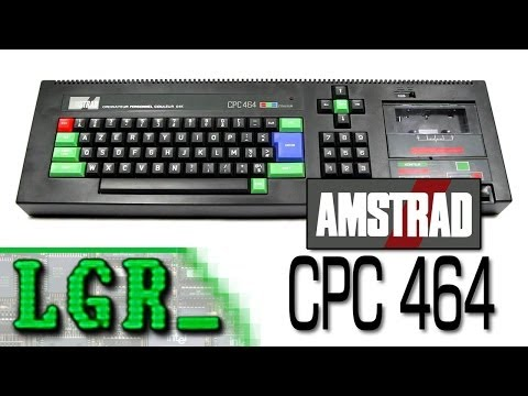 LGR - Amstrad CPC 464 Computer System Review