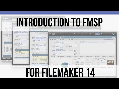 001 Introduction to FM Starting Point for FileMaker 14