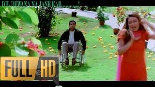 Video Dil Diwana Na Jane Kab - Daag: The Fire (1080p HD Song) MP3, 3GP, MP4, WEBM, AVI, FLV Mei 2018
