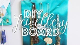 DIY $5 Jewellery Board